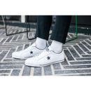 CONS ONE STAR LEATHER WHT/BLK/WHT