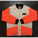 [SUPREME]16AW Color Blocked Quilted Jacket