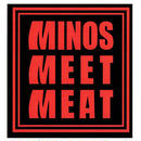 MINOS MEET MEAT STICKER