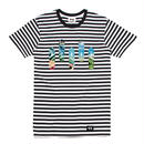 SUMMER BOARD STRIPE TEE