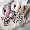 スカーフ付きファーティペット
