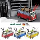 ドイツ WERKHAUS ペンスタンド ワーゲンバス  レッド /ブルー/イエロー