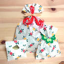 レトロキュート*レトロな薔薇柄紙袋のラッピングセット