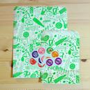 レトロポップ紙袋セット サワー・グリーン
