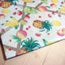 レトロ包装紙*フルーツラッピングペーパー