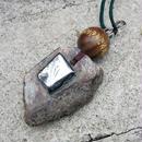 """【数値120】テラヘルツ波を掛けた""""ホンモノ""""テラヘルツ鉱石付き!日本ではまず入手出来ないかなり貴重な高濃度ラジウム石!石の先生が作る☆「ハイパーラジウム鉱石ペンダント」"""