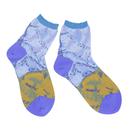 slow cloth socks / オレンジ