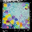 window flower ハンカチ/ブルー