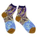 slow cloth socks / ブルー