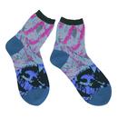 slow cloth socks / ブラック