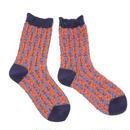 chain pop socks / ネイビー