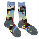 another dimention socks / ブルー