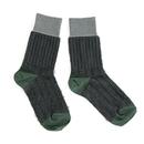 grass&grass socks / チャコール