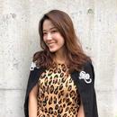leopard knit wear