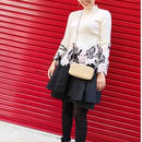 Cashmere lace knitwear