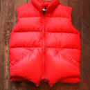 """CRECENT DOWN WORKS"" Down Vest [Color:RED]"