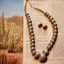 Navajo Necklace Pierce Set [アメリカ買付]