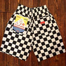 """COOKMAN""Chef Shorts Pants 「Checker」"