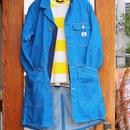 """DE-NA-LI"" Denim Shop Coat(Blue)"