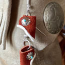 """NAVAJO"" Moccasin Pierce(Brown)"