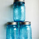 """BALL""Mason Jar 16oz (480ml) [Color:BLUE]"