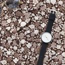 ~2サイズ~シンプル 腕時計 メンズ レディース 兼用 ブラック