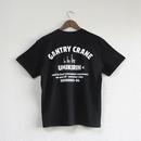 おとなTシャツ ブラック(ガントリークレーン:ウミキリン)
