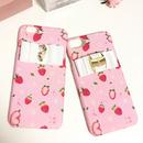 いちごピンクiPhoneケース