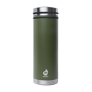MIZU V7 WIDE Enduro Army Green/ w Stainless Lid