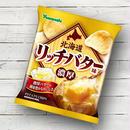 ポテトチップス 北海道リッチバター味 (1ケース:12袋入り)