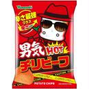 ポテトチップス 男気HOTチリビーフ 90g