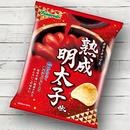 ポテトチップス 熟成明太子味(1ケース:12袋入り)