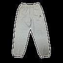 LOGO sweat pants gray