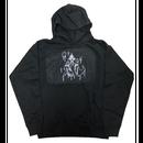 SKULL LOGO hoodie black