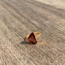 Maroon Spinel Ring