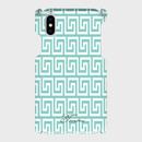名入れ可!Android/ iphone Plusティファニーブルーの幾何学柄♡スマフォケース・♪Android&iPhone 6Plus/6sPlus/7Plus/8Plus対応