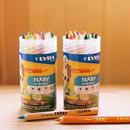 〈3才-〉【色鉛筆】ファルビー18色PPボックスセット 軸白木/カラー