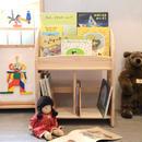 【子どもの家具/本棚】木遊舎 パイン本立て