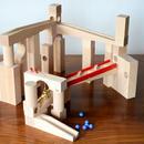 【4才〜】【積木のビー玉転がし・構成玩具】組立てクーゲルバーン