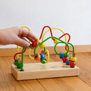 〈2才-〉【玉のレール遊び玩具】【指先を使う玩具】ルーピング ファニー