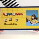 〈5才-7才〉【マグネット玩具】【はじめての算数】缶入マグネット123  (82ピース)