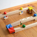 【1才-7才】【組み立て・実験・思考】CUBIO 玉の塔 基本セット