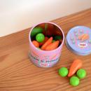 【ままごと/食材】HABA 缶入り 豆とにんじん