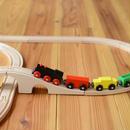 【2才〜】【組み立て・想像】MICKI  汽車セット スタンダード