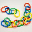 〈1才-〉【指先を使う玩具】 エデュコチェーン(100ピース)