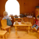 〈3才-〉【ドールハウス/家具セット】ドールハウス用 台所セット