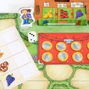 〈購入時期目安:4才-6才〉【ゲーム/簡単なすごろく遊び】お買いものゲーム