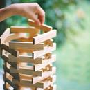 〈2才-〉【「形」の構成遊び玩具】【色々な素材の積木】KAPLA 200
