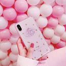 【M427】★ iPhone 6 / 6s /6Plus / 6sPlus / 7 / 7Plus / 8 / 8Plus / X ★ シェルカバー ケース 貝殻 クリアケース 星の砂