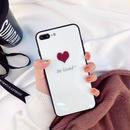 【M355】★ iPhone 6 / 6s / 6Plus / 6sPlus / 7 / 7Plus / 8 / 8Plus / X ★ シェルカバー ケース ハート  可愛い  Be Loved